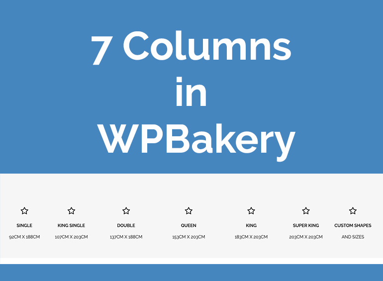 How To Create 7 Columns in WPBakery