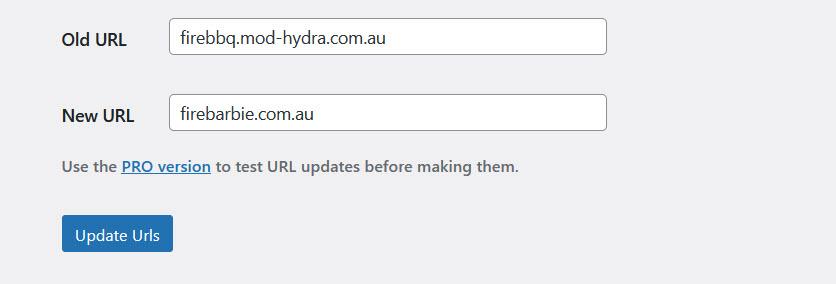 Updating Slider Revolution URL in Go Live